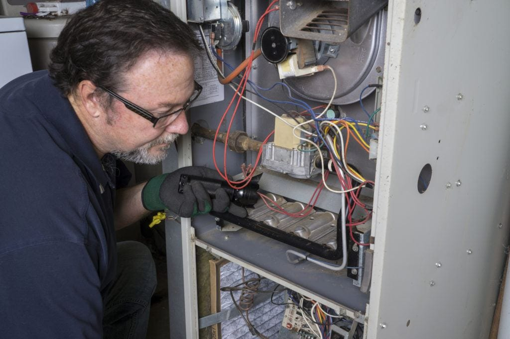 Wall Furnace Repair Maintenance Los