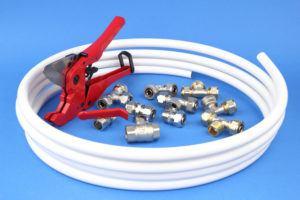 Cross-Linked polyethylene pipes